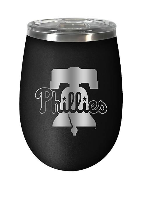 MLB Phillies 12 Ounce Stealth Wine Tumbler