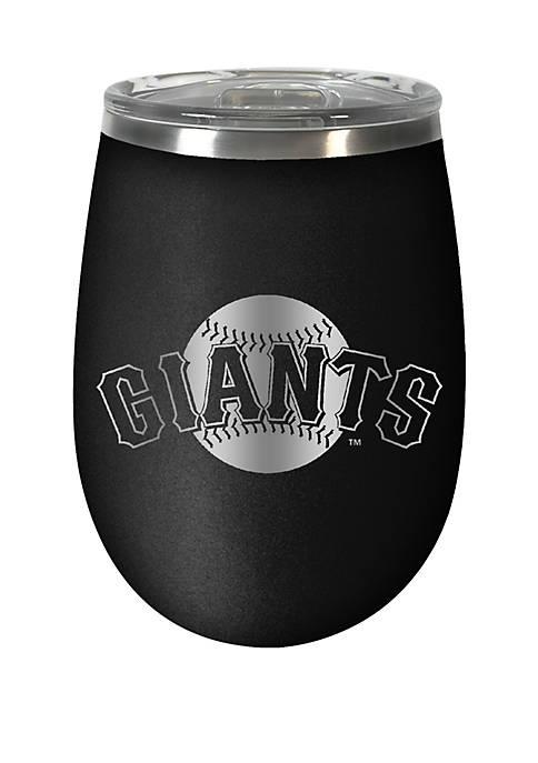 MLB Giants 12 Ounce Stealth Wine Tumbler