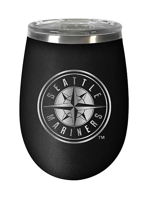MLB Mariners 12 Ounce Stealth Wine Tumbler