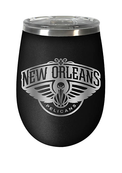 NBA New Orleans Pelicans 12 Ounce Stealth Wine Tumbler