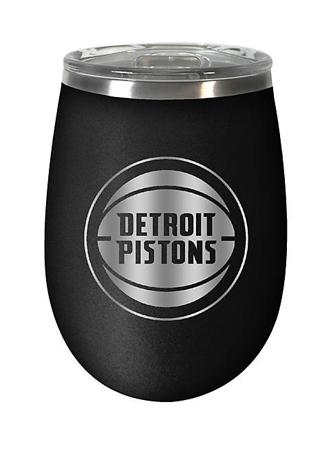 NBA Detroit Pistons 12 Ounce Stealth Wine Tumbler