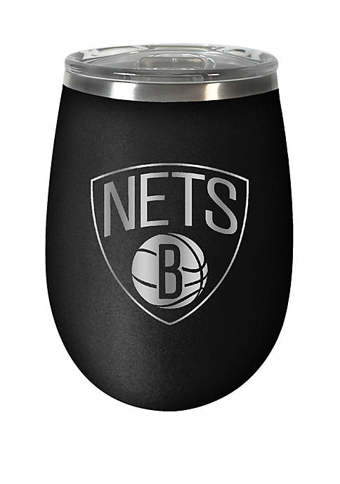 NBA Brooklyn Nets 12 Ounce Stealth Wine Tumbler