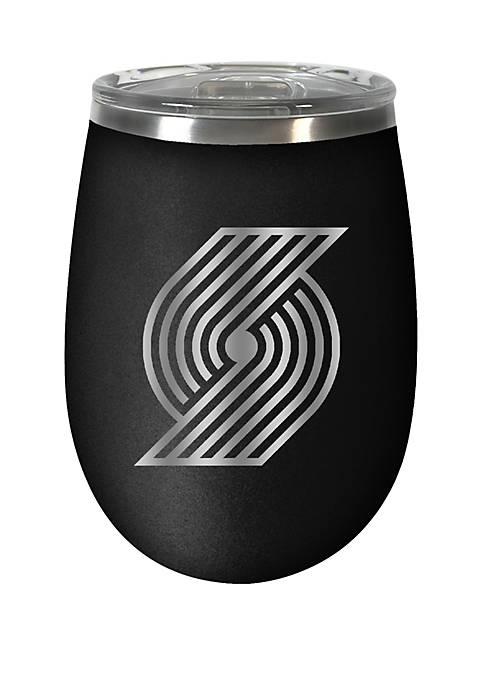 NBA Portland Trail Blazers 12 Ounce Stealth Wine Tumbler