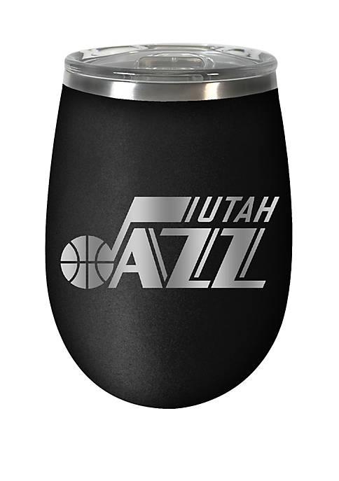 NBA Utah Jazz 12 Ounce Stealth Wine Tumbler