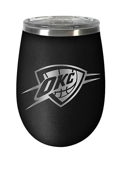 NBA Oklahoma City Thunder 12 Ounce Stealth Wine Tumbler