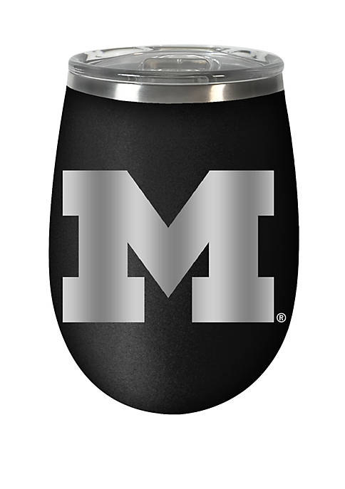 NCAA Michigan Wolverines 12 Ounce Stealth Wine Tumbler