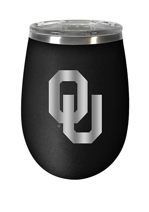 NCAA Oklahoma Sooners 12 Ounce Stealth Wine Tumbler