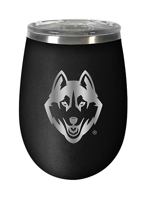 NCAA UConn Huskies 12 Ounce Stealth Wine Tumbler