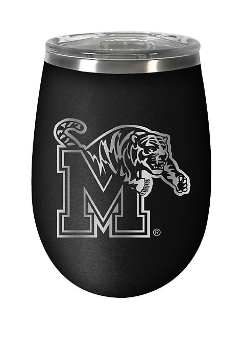 NCAA Memphis Tigers 12 Ounce Stealth Wine Tumbler