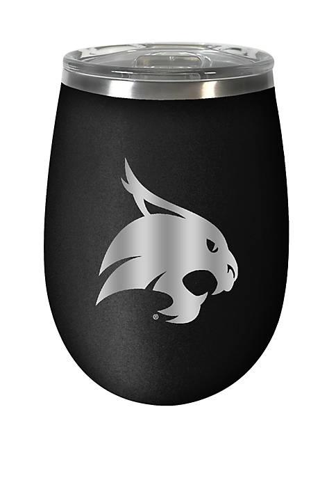 NCAA Texas State Bobcats 12 Ounce Stealth Wine Tumbler