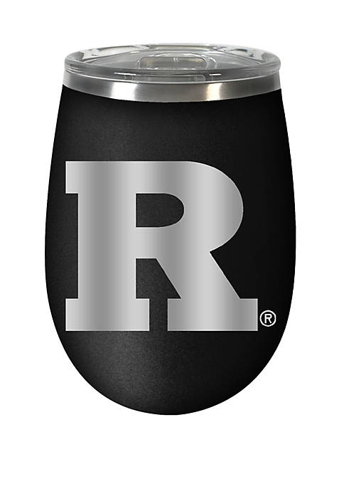 NCAA Rutgers Scarlet Knights 12 Ounce Stealth Wine Tumbler