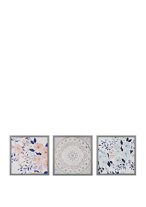 Intelligent Design Summer Bliss Wall Art Set