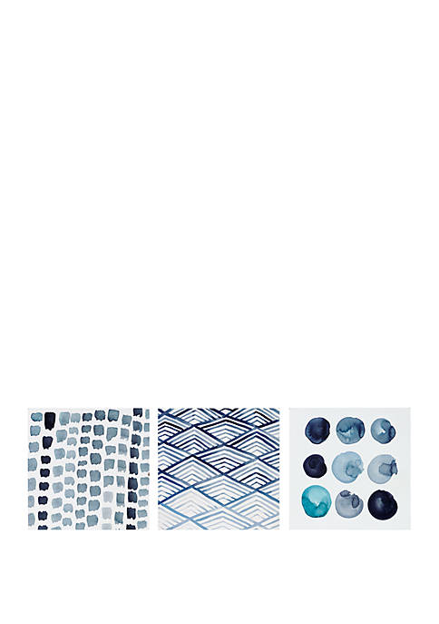 INK + IVY® Monochrome Wall Art Trio Set