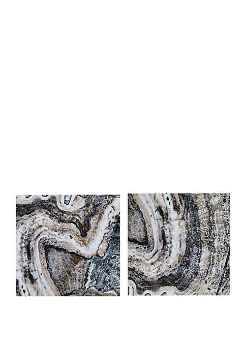 INK + IVY® Cool Stone Wall Art Set