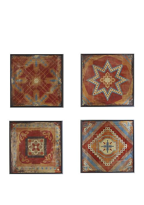 Moroccan Tile Wall Art Set
