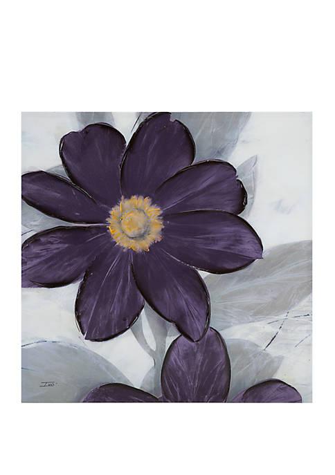 Midnight Bloom Plum Wall Art