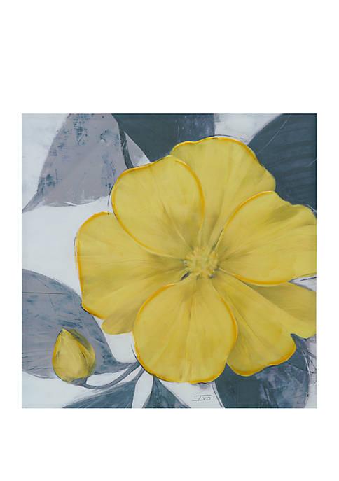 Madison Park Yellow Bloom Wall Art