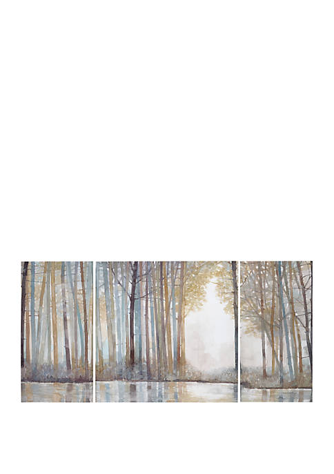 Madison Park Forest Reflections Canvas Art