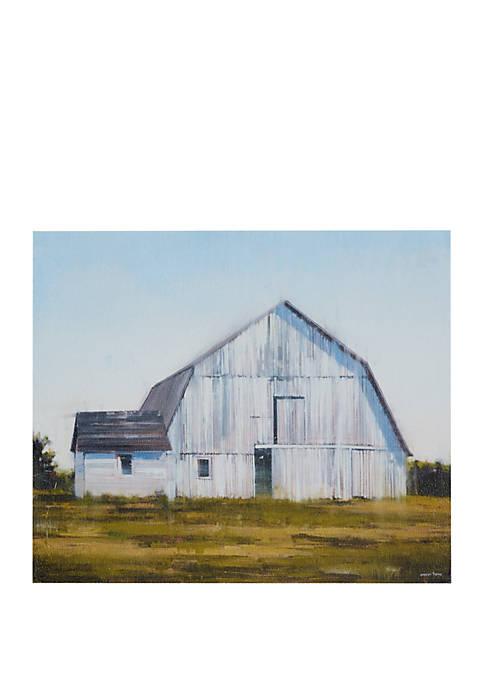 Madison Park Old White Barn Canvas