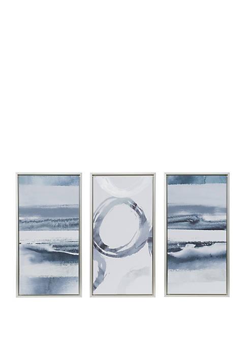 Madison Park Gray Surrounding Canvas Set