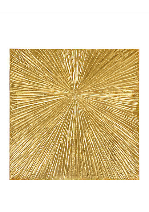 Madison Park Signature Sunburst Gold Wall Art