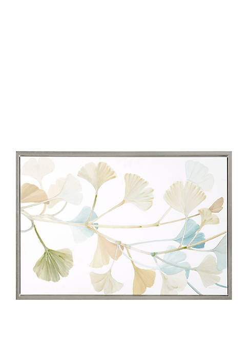 Madison Park Signature Spring Ginkgo Leaves Wall Art
