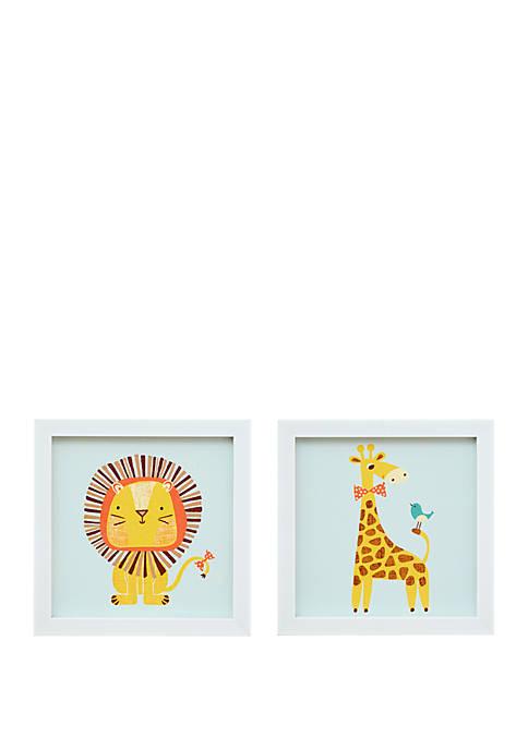 Safari Fun 2 Wall Art Set