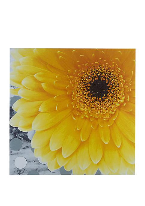 Mi Zone Vibrant Yellow Wall Art