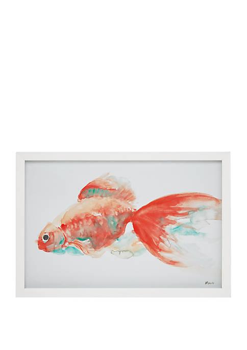 Gilbert Goldfish Wall Art