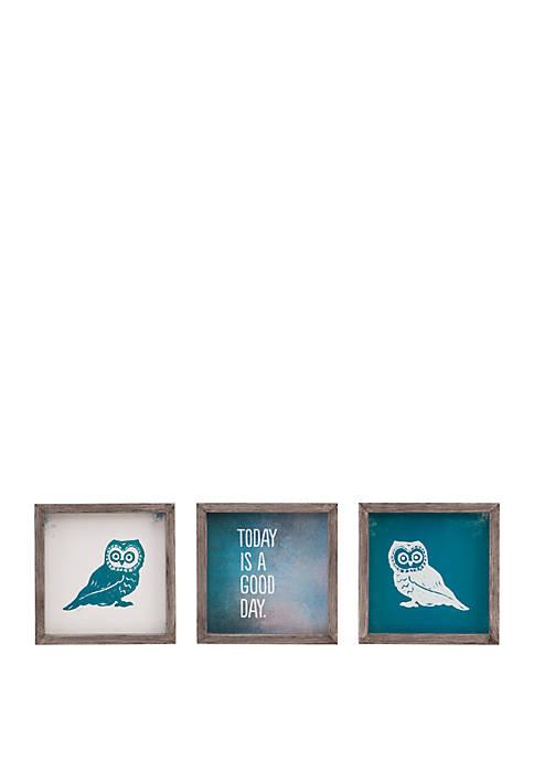 Intelligent Design Wise As An Owl Wall Art