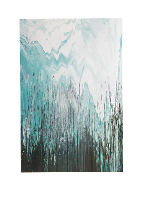 INK + IVY® Abstracted Chevron Canvas