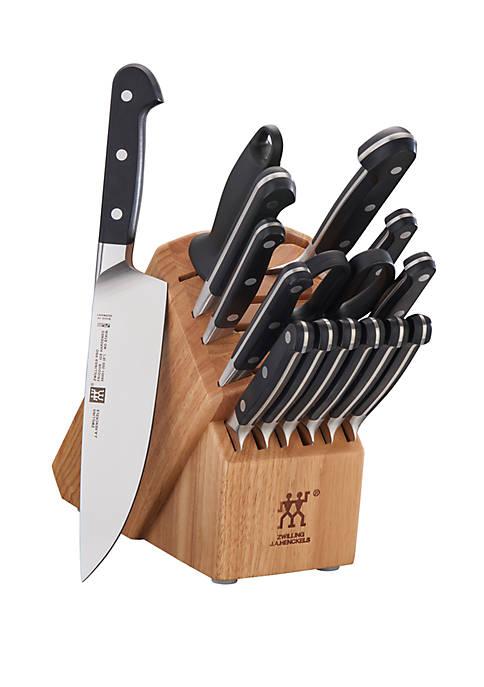 Zwilling J.A. Henckels 16 Piece Pro Knife Block