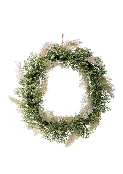 goodness & grace Gypsophila Wreath
