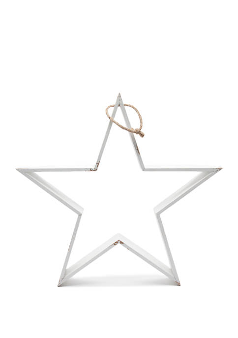 goodness & grace White Wood Star
