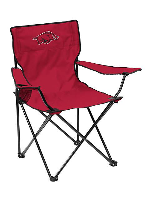 Logo NCAA Arkansas Razorbacks Quad Chair