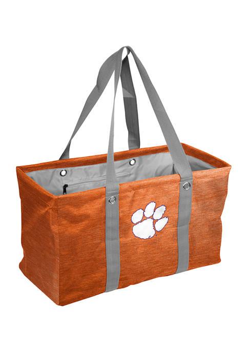 Logo NCAA Clemson Tigers Crosshatch Picnic Caddy