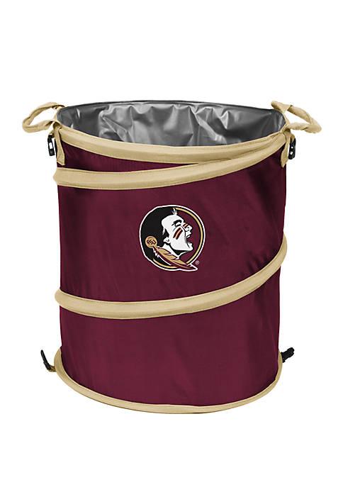 Logo NCAA FSU Seminoles Collapsible 3-in-1 Cooler Hamper