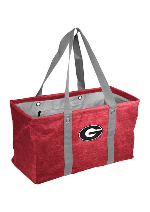 Logo NCAA Georgia Bulldogs Crosshatch Picnic Caddy