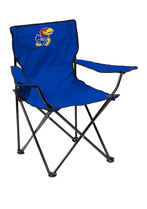 Logo NCAA Kansas Jayhawks Quad Chair