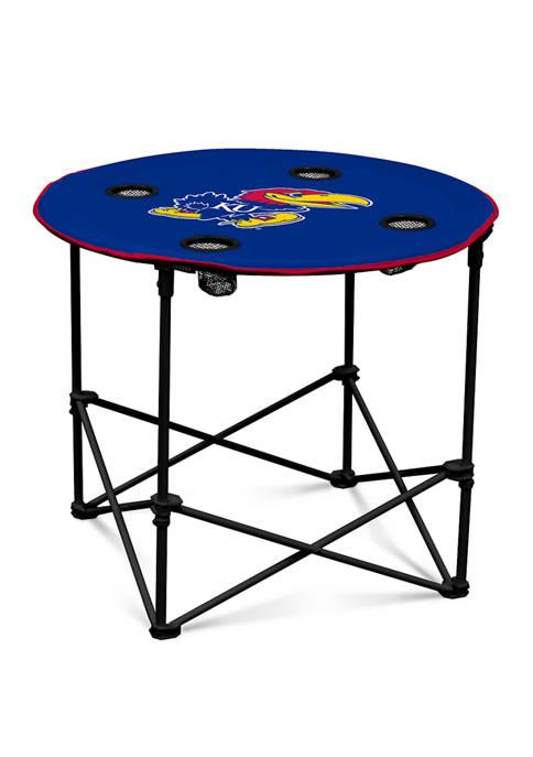 Logo NCAA Kansas Jayhawks Round Table