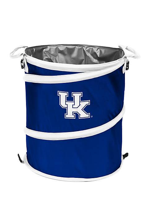 Logo NCAA Kentucky Wildcats Collapsible 3-in-1 Cooler Hamper