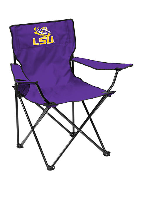 NCAA LSU Tigers 20.5 Inch x 32 Inch x 32 Inch Quad Chair