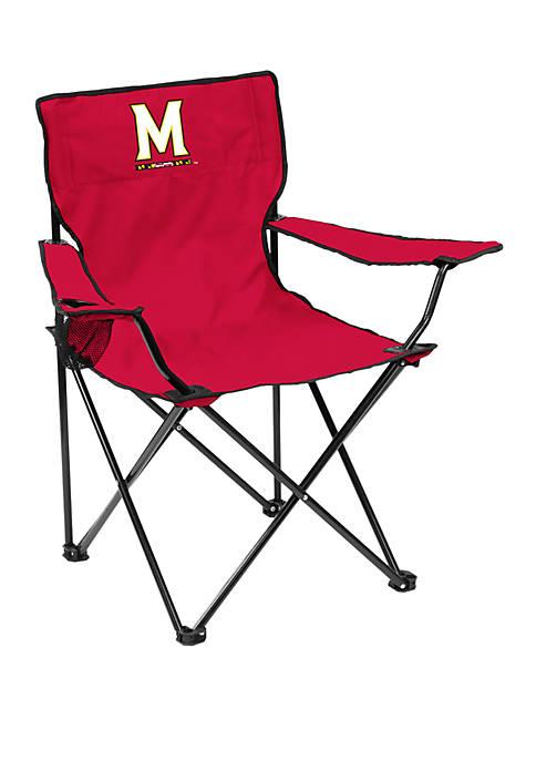NCAA Maryland Terrapins 20.5 Inch x 32 Inch x 32 Inch Quad Chair