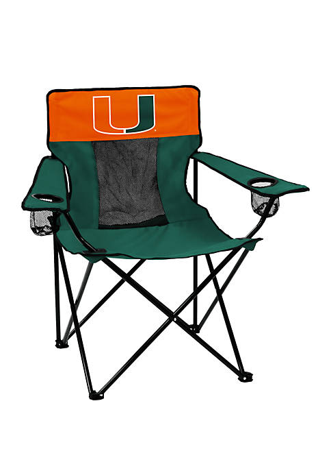 NCAA Miami Hurricanes Elite Chair