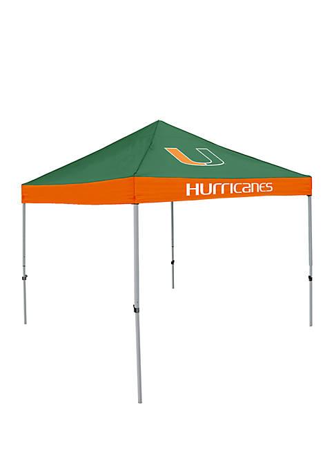 Logo NCAA Miami Hurricanes 9 Foot x 9