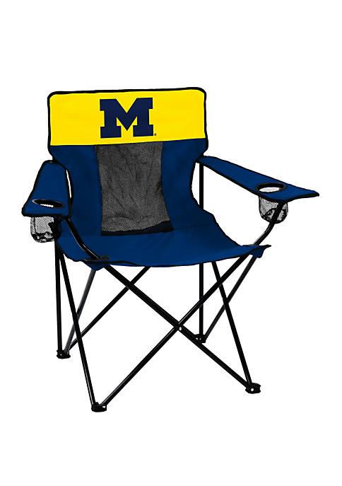 Logo NCAA Michigan Wolverines Elite Chair