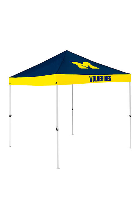 NCAA Michigan Wolverines 9 Foot x 9 Foot Economy Tent
