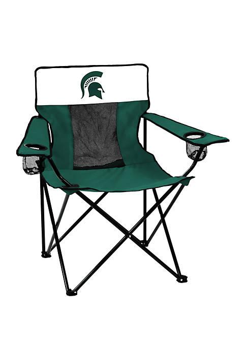 Logo NCAA Michigan State Spartans Elite Chair