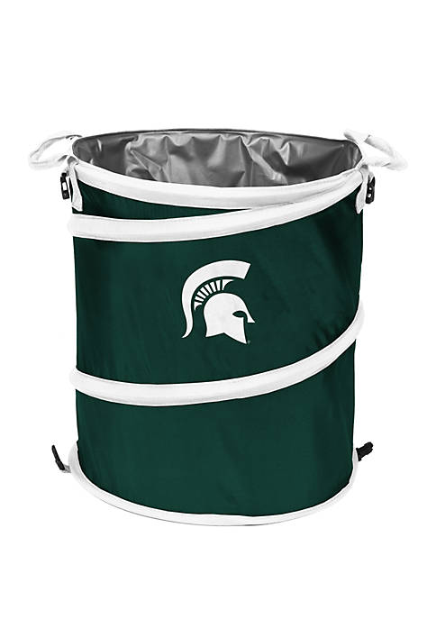 Logo NCAA Michigan State Spartans Collapsible 3 in