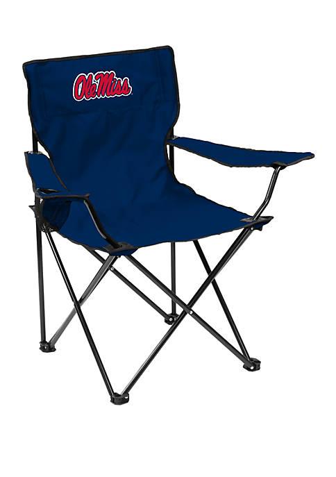 Logo NCAA Ole Miss Rebels Quad Chair